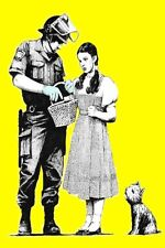 BANKSY DOROTHY POSTER -  24X36  ART - NEW/ROLLED!