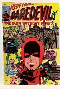DAREDEVIL THE MAN WITHOUT FEAR 3 1977 YAFFA Classic cover. Australia reprint
