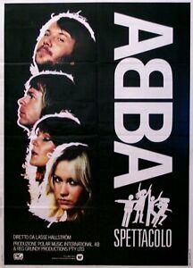 Abba 1 Rock Band music GIG vintage old advert wall art print Poster