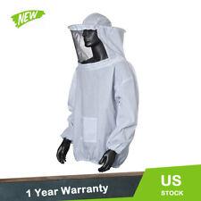 Beekeeping Jacket Veil Bee Keeping Suit Hat Pull Over Smock Protective Equipment