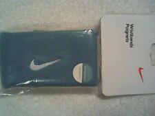 NEW Nike Reversible Wristbands Tennis Federer Nadal Tennis Blue /White Wristband