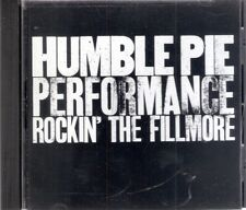Humble Pie-Performance Rock' The Fillmore CD-Like New