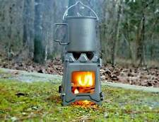 Titanium Ultralight Outdoor Camping Folding Wood Stove