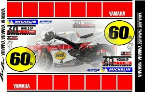 Yamaha 60th Anniversary (special Edition) 2021 decal set