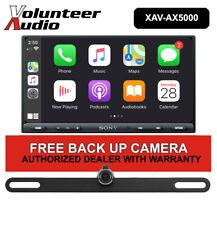 SONY XAV-AX5000 7 Inch Car Stereo Apple CarPlay, Android Auto, with Rear Camera!