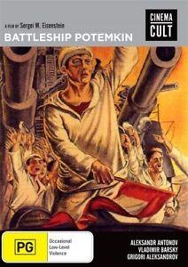 Battleship Potemkin (DVD, 2016) Brand new sealed  - Region 4
