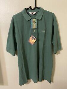Chevrolet Mens Cutter & Buck Green Polo Shirt SZ L/G GM Brand New W/ Tag