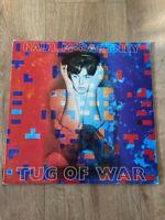 Paul McCartney – Tug Of War Vinyl LP Album 33rpm 1982 Parlophone – PCTC 259