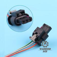 OEM 3 PIN Plug Pigtail Socket Connector 4F0973703 For VW Golf Jetta Tiguan Audi
