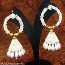 Indian Ethnic Bollywood Fashion Gold Plated Traditional Jumka Jumki Earrings Y 3