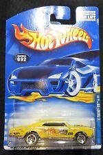 2001  Hot Wheels  '67 Pontiac GTO Hippie Mobiles Series  Card #092    Box 11