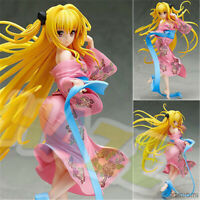 To Love Darkness Golden Eve Yami Yukata Ver. PVC Figurines Jouets 22cm statues