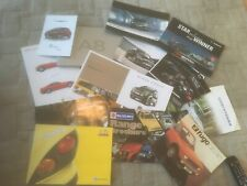 COLLECTION OF CAR   BROCHURES x 15      SEE PHOTOS FOR WHAT IS INCLUDED