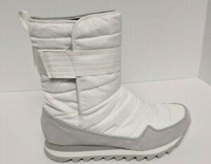 Merrell Alpine Tall Waterproof Winter Boots, White, Women's 9.5 M