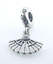 NEW Authentic Pandora Sterling Silver Hearts A Flutter Fan Dangle Charm 791110