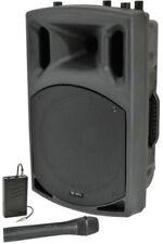 """QX12AV Active Speaker With VHF 12"""" 200w"""