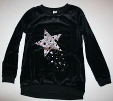NUEVO Gymboree Terciopelo Purpurina Estrella Vestido Túnica Tallas 10-12 Año