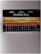 DURACELL COPPERTOP ALKALINE  AAA BATTERIES 1.5 V  SET OF 16  BRAND NEW  EXP 2030