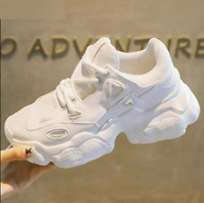 Women Breathable Mesh Chunky Sneakers Comfortable Platform Shoes Casual Trainers