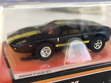 Auto World Black 05 Ford GT Lighted Flame Thrower HO Slot Car runs on Aurora AFX