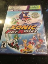 SONIC FREE RIDERS...XBOX 360 KINECT Brand New Factory Sealed