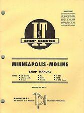 Minn/Moline Ub,Uts,5Star,M5 etc Tractor I+T Shop Manual Mm-16