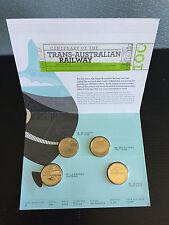 New Mint 2017 Centenary Of Trans-Australian Railway $1 Four Coin Mintmark Set