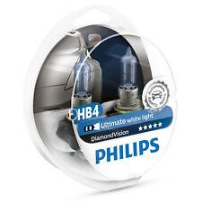 Philips Diamond Vision HB4 5000K Car Headlamp Styling Bulbs (Twin) 9006DVS2
