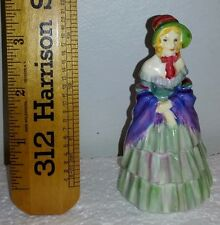 """1920's  ROYAL DOULTON 3 3/4"""" FIGURINE M2  Made in England """" A Victorian Lady"""""""