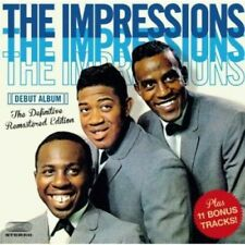 The Impressions - Impressions Debut Album [New CD] Spain - Import