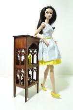 Furniture for Dolls 12 inch 1:6 1/6  FR Barbie Shelf modern NEW Gothick style