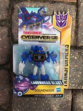 New listing Transformers Cyberverse Soundwave Warrior Autobot Hasbro Cardboard Has Wear
