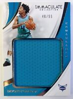 2018 Panini Immaculate Collection Remarkable Devonte Graham Jersey RC, #'d /99