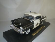 """Road Legends  Chevrolet  Bel  Air  """"1957""""  (Police Chief) 1:18 OVP !"""