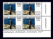VATICANO - 1977 - 750° anniversario della morte di San Francesco 100L. Luna Stel
