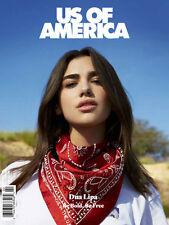US OF AMERICA Magazine #2 Dua Lipa PRINCE PURPLE RAIN Bruce Gilden Ill Camille