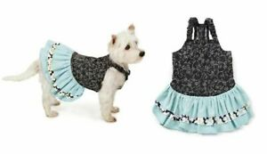 Max & Maggie - Dog Puppy Dress - Ruffle - Blue S/M