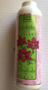 Vintage NEW Elariia / Perlier Talc Orchid 3.5 oz RARE! REDUCED!!