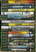 Lot of 17 Original Xbox & 1 Xbox 360 Games Most Are Scratched Untested As Is