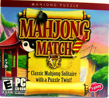 Mahjong Match CD-ROM 98/2000/XP Soothing Challenge w/a Twist * Ship Free