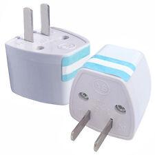 Universal EU UK AU to US USA CA AC Travel Power Plug Adapter Outlet Converter