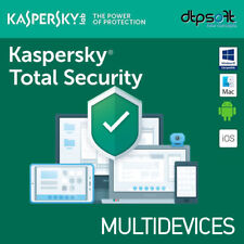 Kaspersky Total Security 2019 Antivirus (3 Codici per PC)