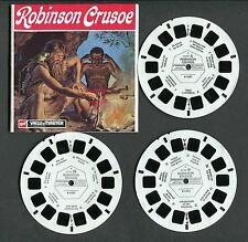gaf View-Master Packet-Book ROBINSON CRUSOE, #B438-N Dutch Language ©1973