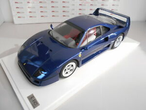 GT80022 by GT SPIRIT FERRARI F40 TOUR DE FRANCE BLUE 1/8