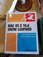 Mac Os 10.6 Snow Leopard By Maria Langer Paperback