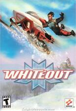 WHITEOUT SnowMobile Racing SnoCross PC Game NEW in BOX!