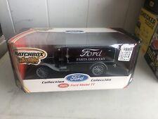 Ford TT Panel Van Die Cast By Matchbox - 1:18 Scale - Black & Grey NRFB