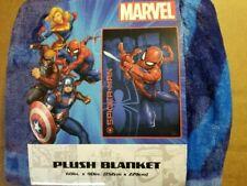 "Marvel Spiderman 60"" X 90"" Plush Blanket"