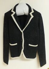 C by Bloomingdale's Women Cashmere Cardigan Button Down Sweater 2-Ply L