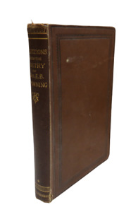 A Selection From The Poetry Of Elizabeth Barrett Browning First Series 1884